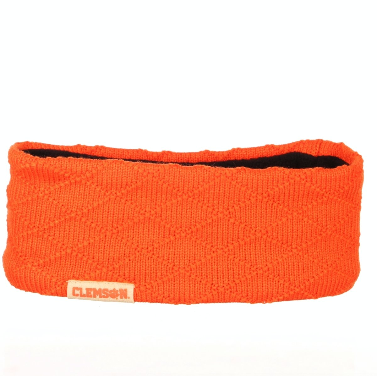 Clemson Tigers Aura Knit Fleece Headband - Mr. Knickerbocker