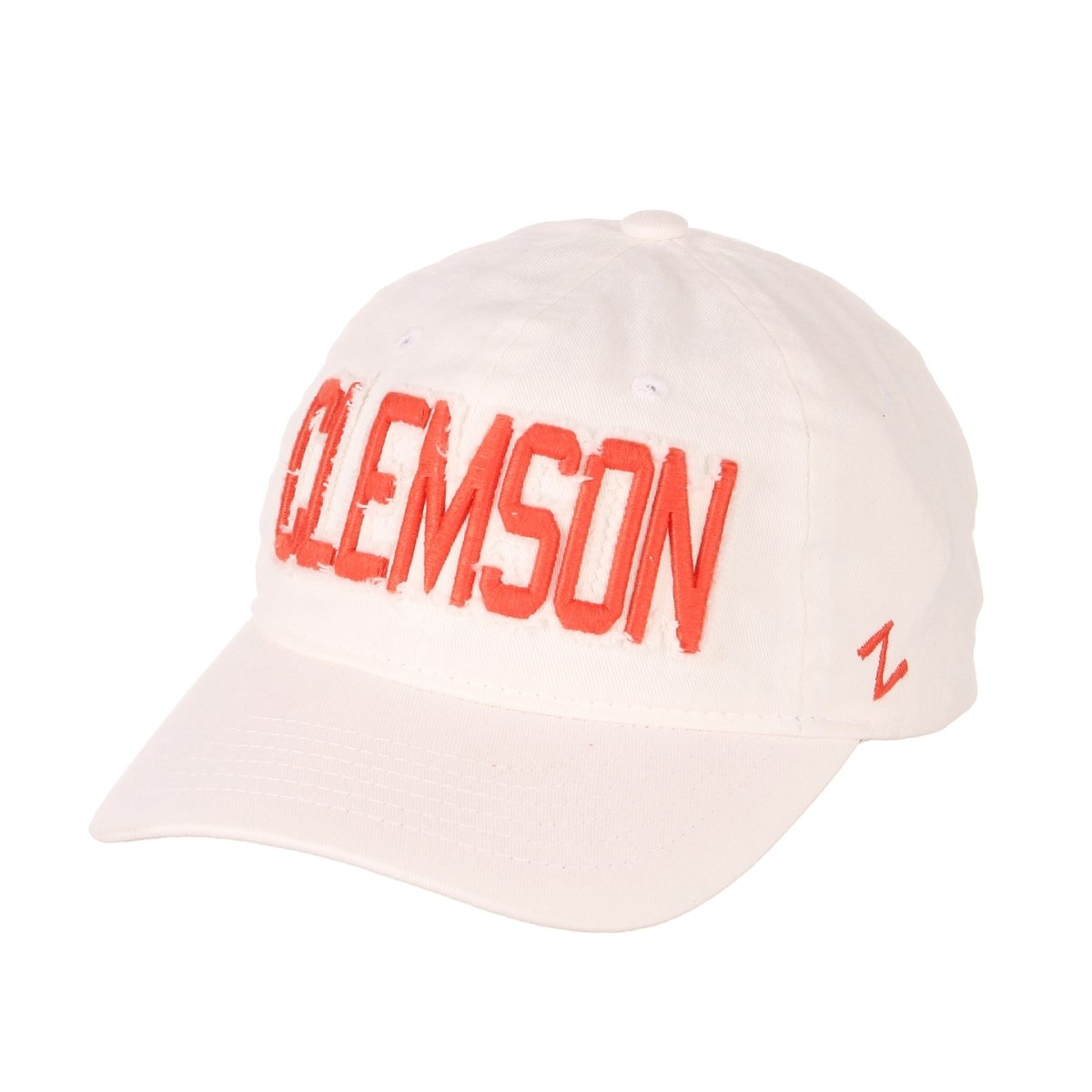 Clemson Tigers Belle Ladies Cap With Frayed Embroidery - Mr. Knickerbocker