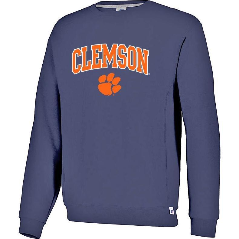 Clemson Tigers Classic Crew Neck Sweatshirt - Mr. Knickerbocker
