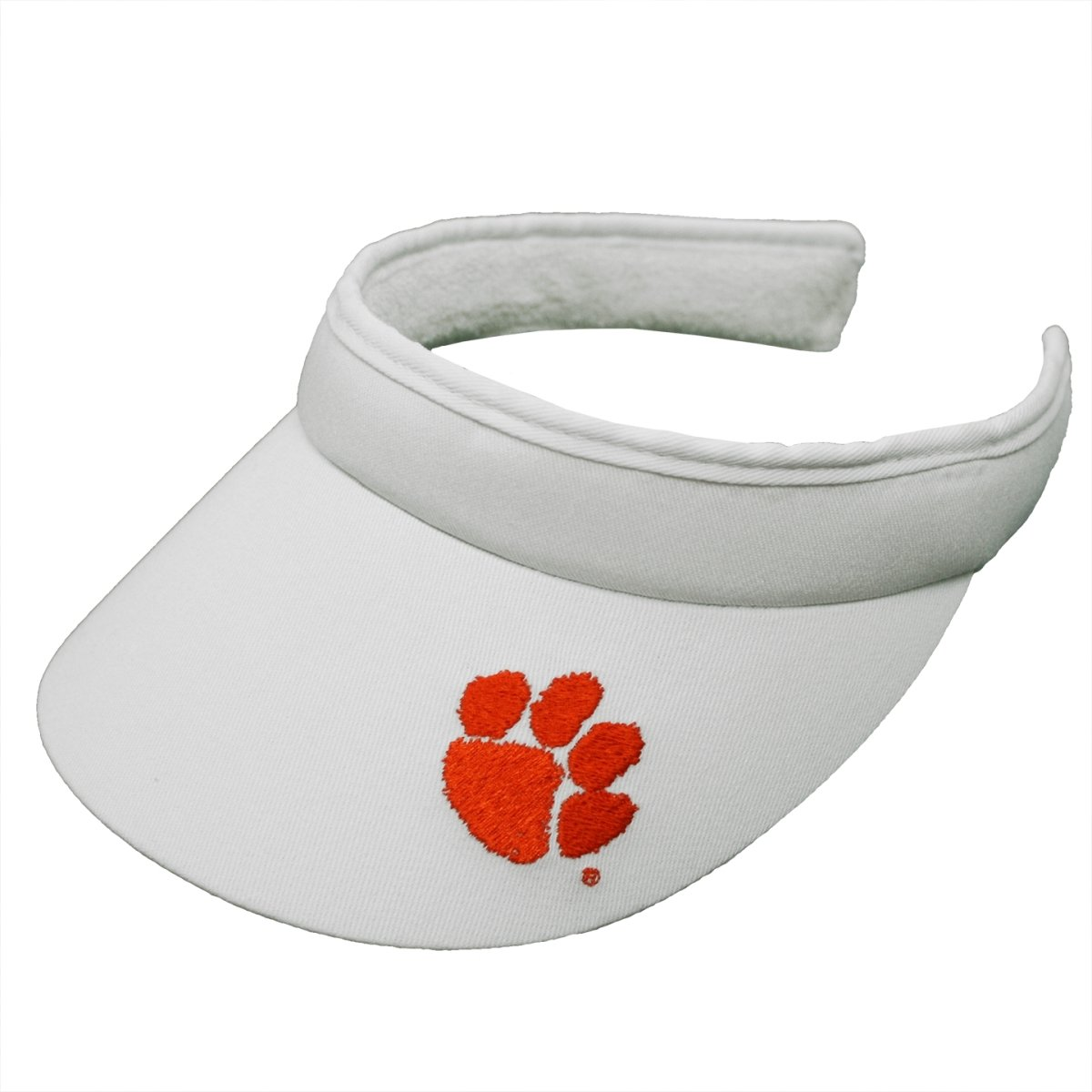 Clemson Tigers Clip-on-visor With Paw - Mr. Knickerbocker