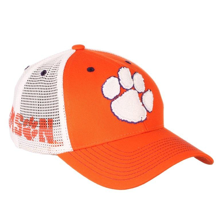 Clemson Tigers Courtside 2 Tone Fitted Mesh Hat - Mr. Knickerbocker