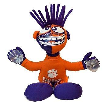 Clemson Tigers Fanatic Suction Cup Plush - Mr. Knickerbocker