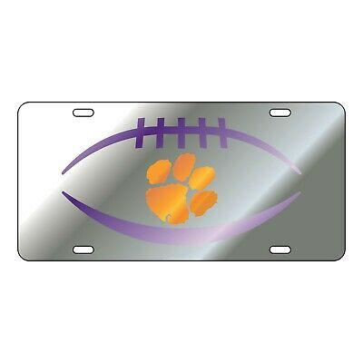 Clemson Tigers Football License Plate - Mr. Knickerbocker