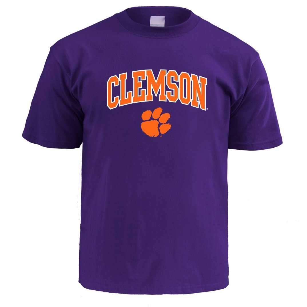 Clemson Tigers Infant T-shirt With Arch Over Paw - Mr. Knickerbocker