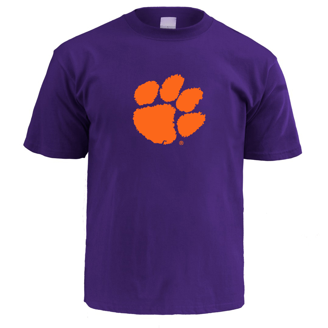 Clemson Tigers Infant T-shirt With Paw - Mr. Knickerbocker