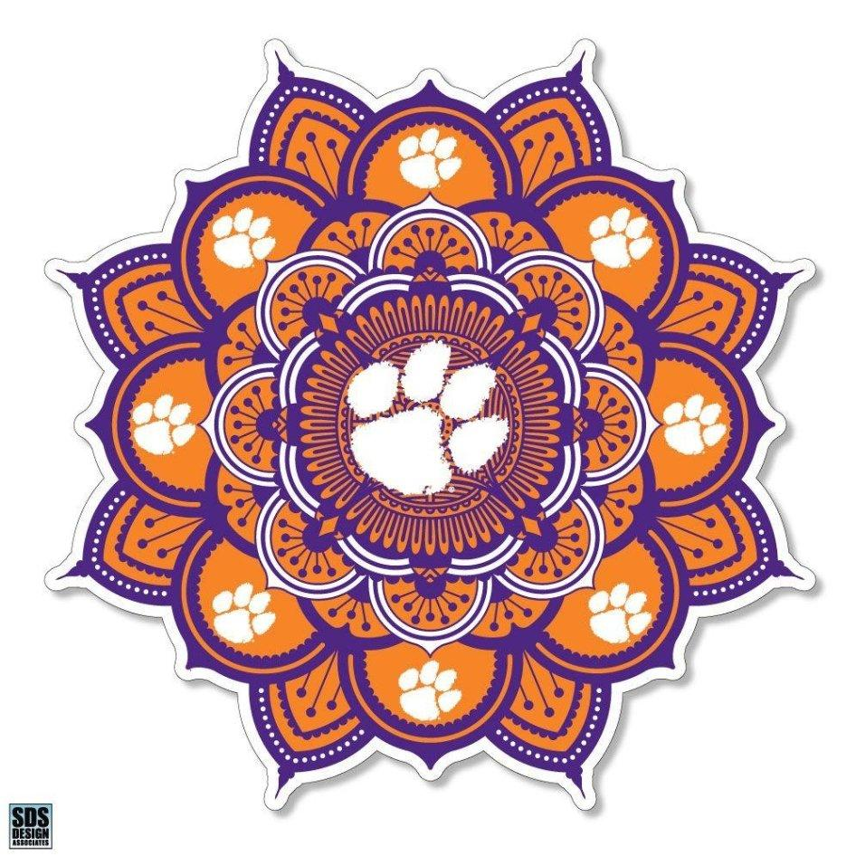 Clemson Tigers Kaleidoscope Decal - Mr. Knickerbocker