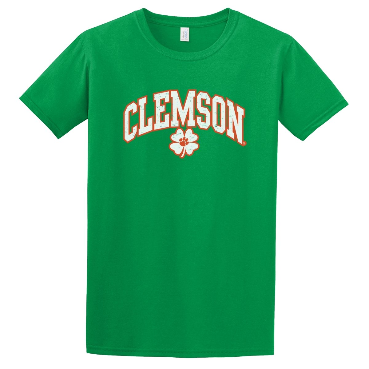 Clemson Tigers Lucky Clover T-Shirt - Mr. Knickerbocker