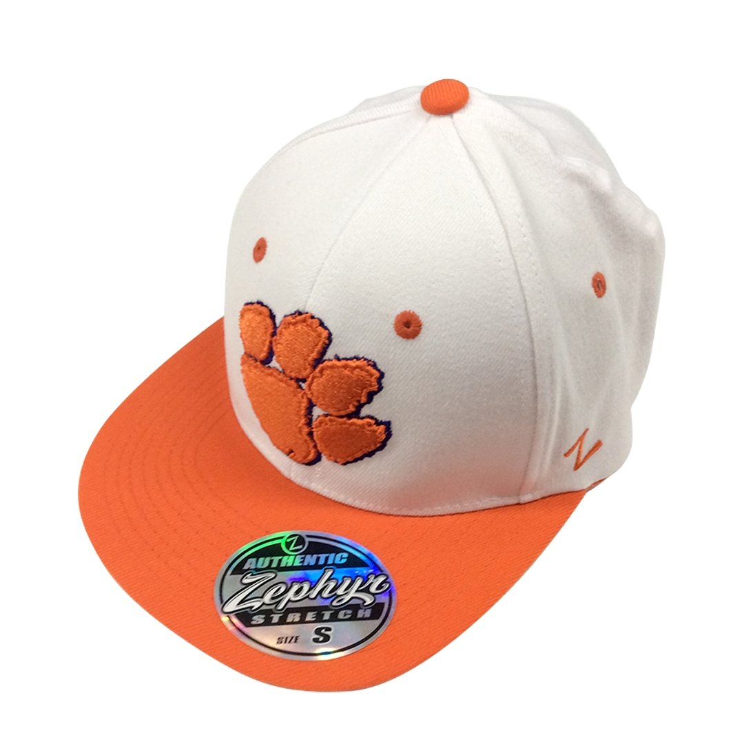 Clemson Tigers Mid Paw Fitted Hat - Mr. Knickerbocker