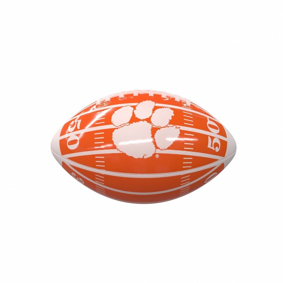 Clemson Tigers Mini Glossy Football - Mr. Knickerbocker
