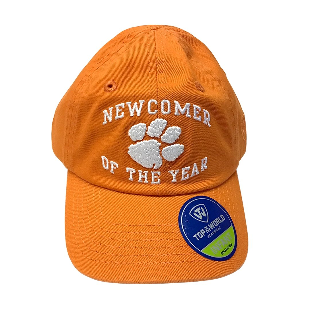 Clemson Tigers Newcomer of the Year Adjustable Infant Cap - Mr. Knickerbocker