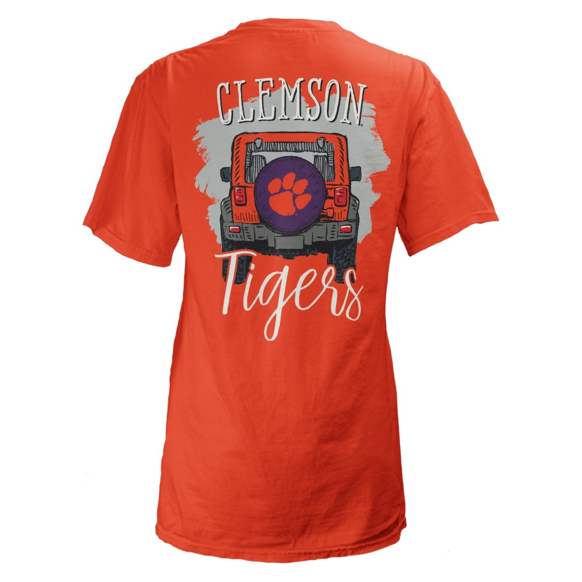 Clemson Tigers Off Road T-Shirt - Mr. Knickerbocker