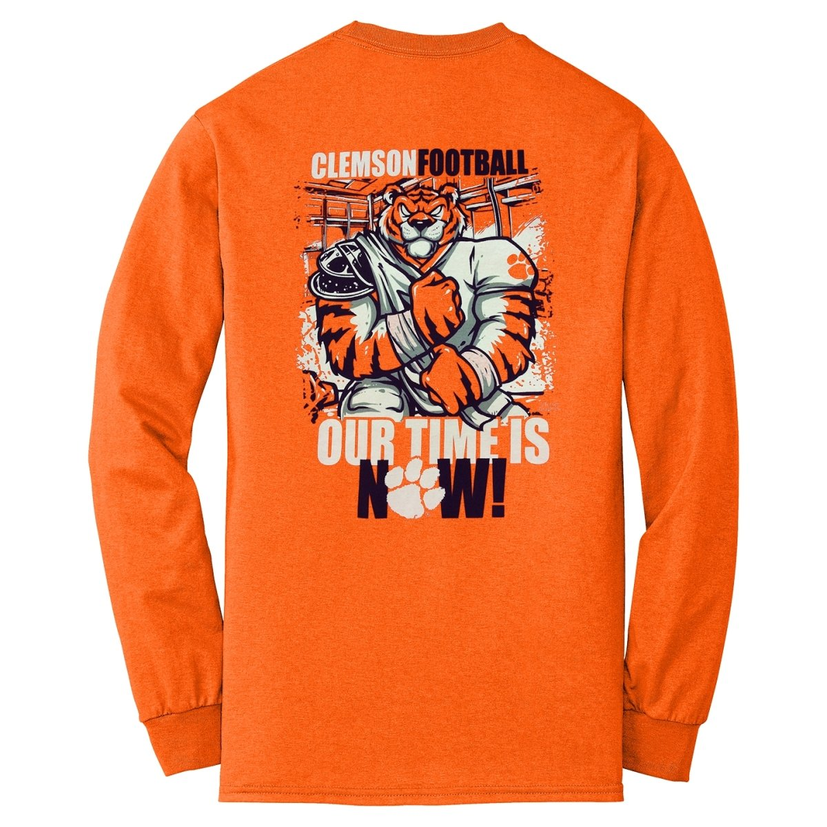"Clemson Tigers ""Our Time Is Now"" T-shirt - Mr. Knickerbocker"