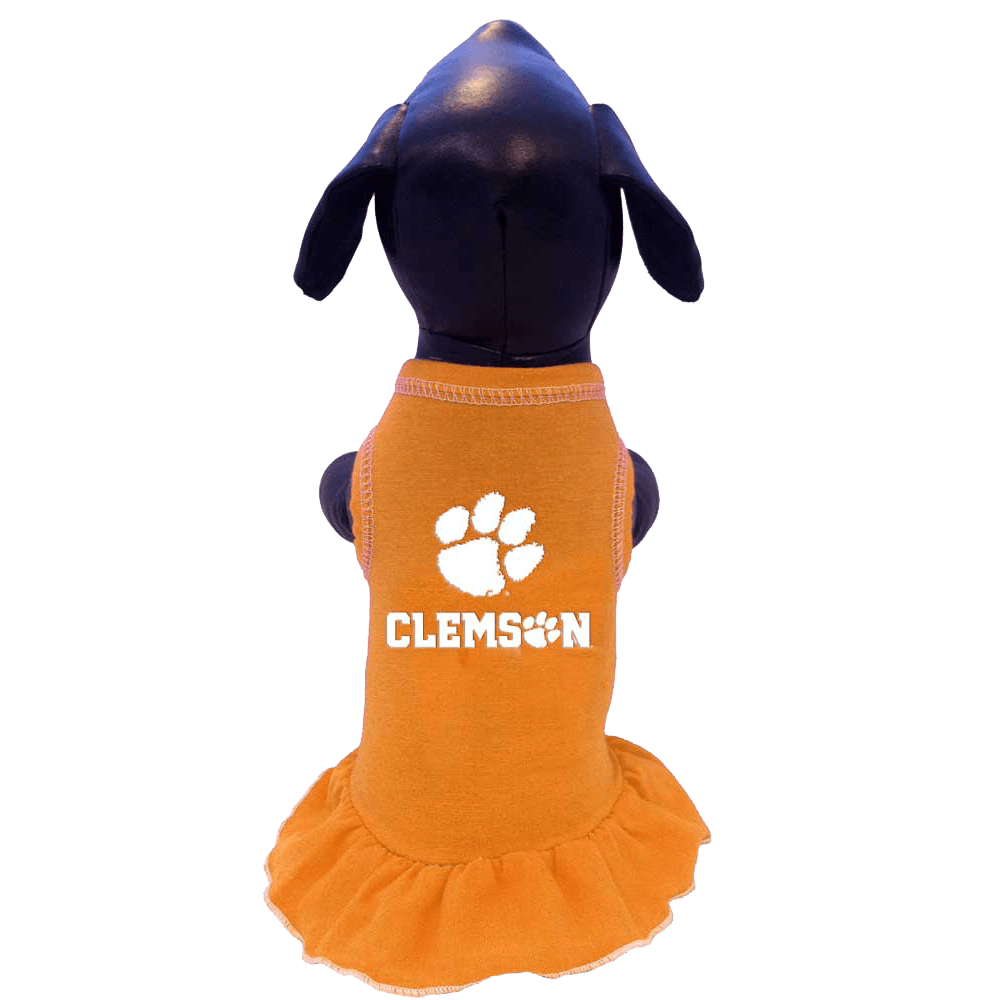 Clemson Tigers Pet Cheerleader Dress - Mr. Knickerbocker