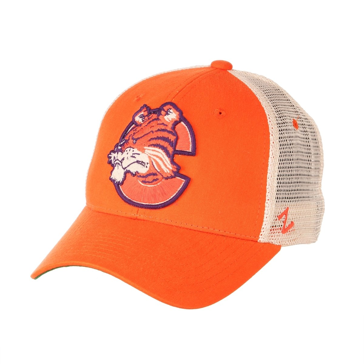 Clemson Tigers Reload Vault With Tiger Snapback Trucker Cap - Mr. Knickerbocker
