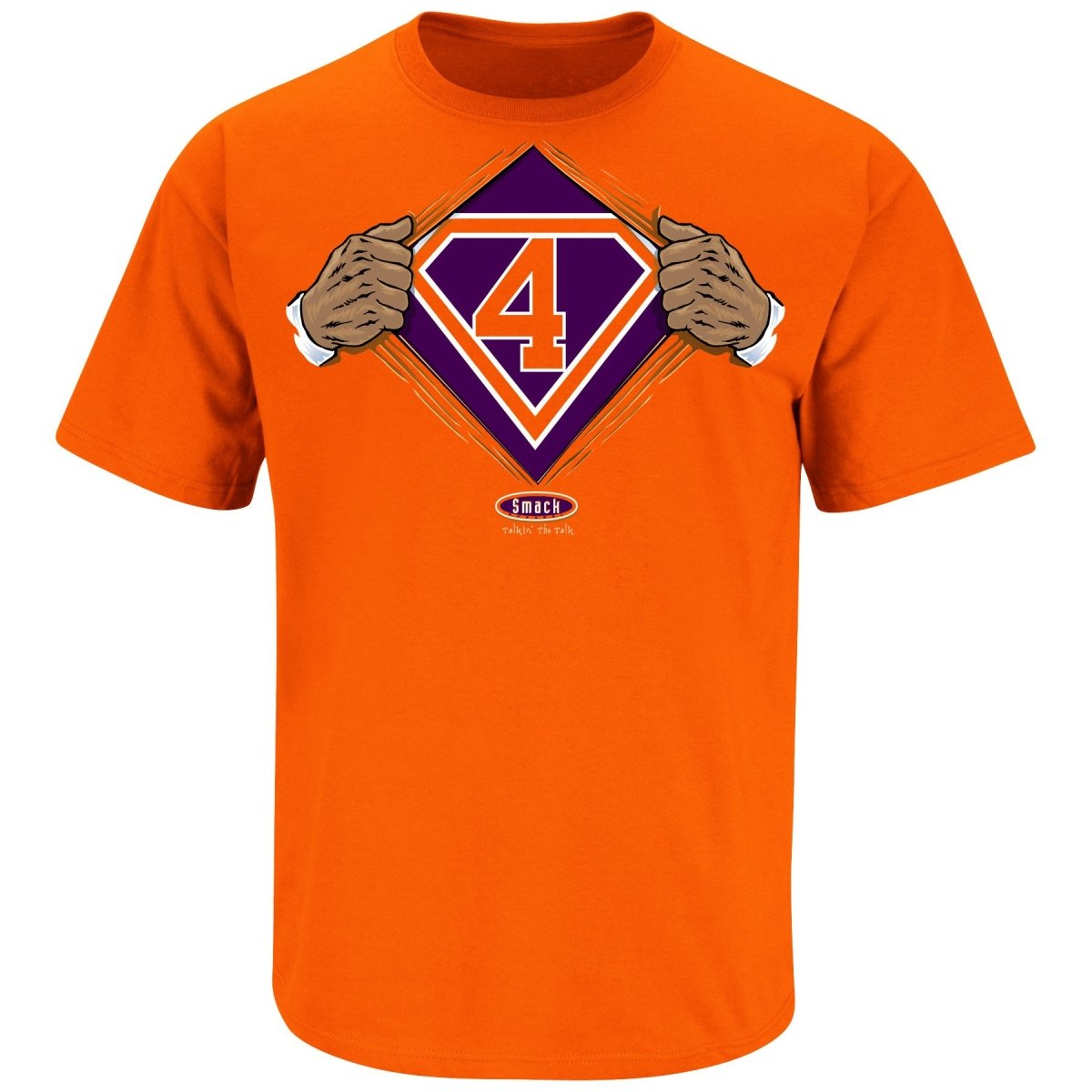 "Clemson Tigers ""Super 4"" T-shirt - Mr. Knickerbocker"