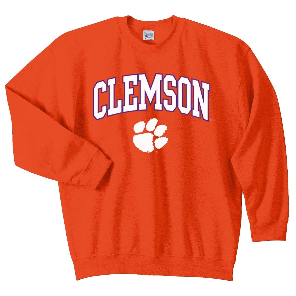 Clemson Tigers Toddler Crew Neck Sweater With Arch Over Paw - Mr. Knickerbocker