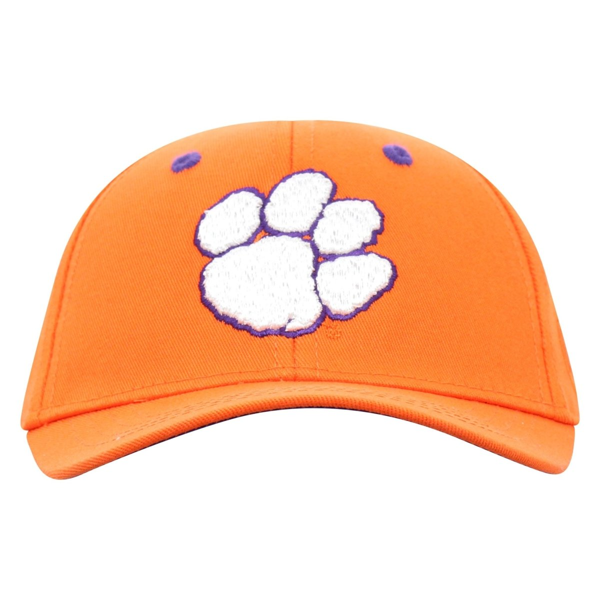 Clemson Tigers Top of the World Lil' Tiger Paw Print Fitted Infant Cap - Mr. Knickerbocker
