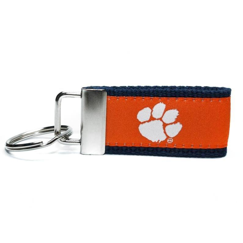 Clemson Tigers Web Weave Key Chain - Mr. Knickerbocker