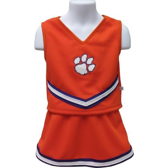 Clemson University 3 Piece Infant Cheerleading with Paw - Mr. Knickerbocker