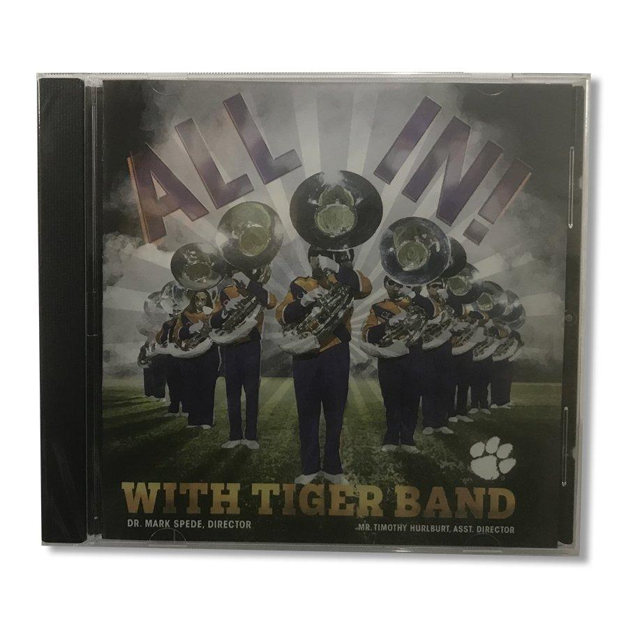 "Clemson University ""All In! With Tiger Band"" 2016 Cd - Mr. Knickerbocker"