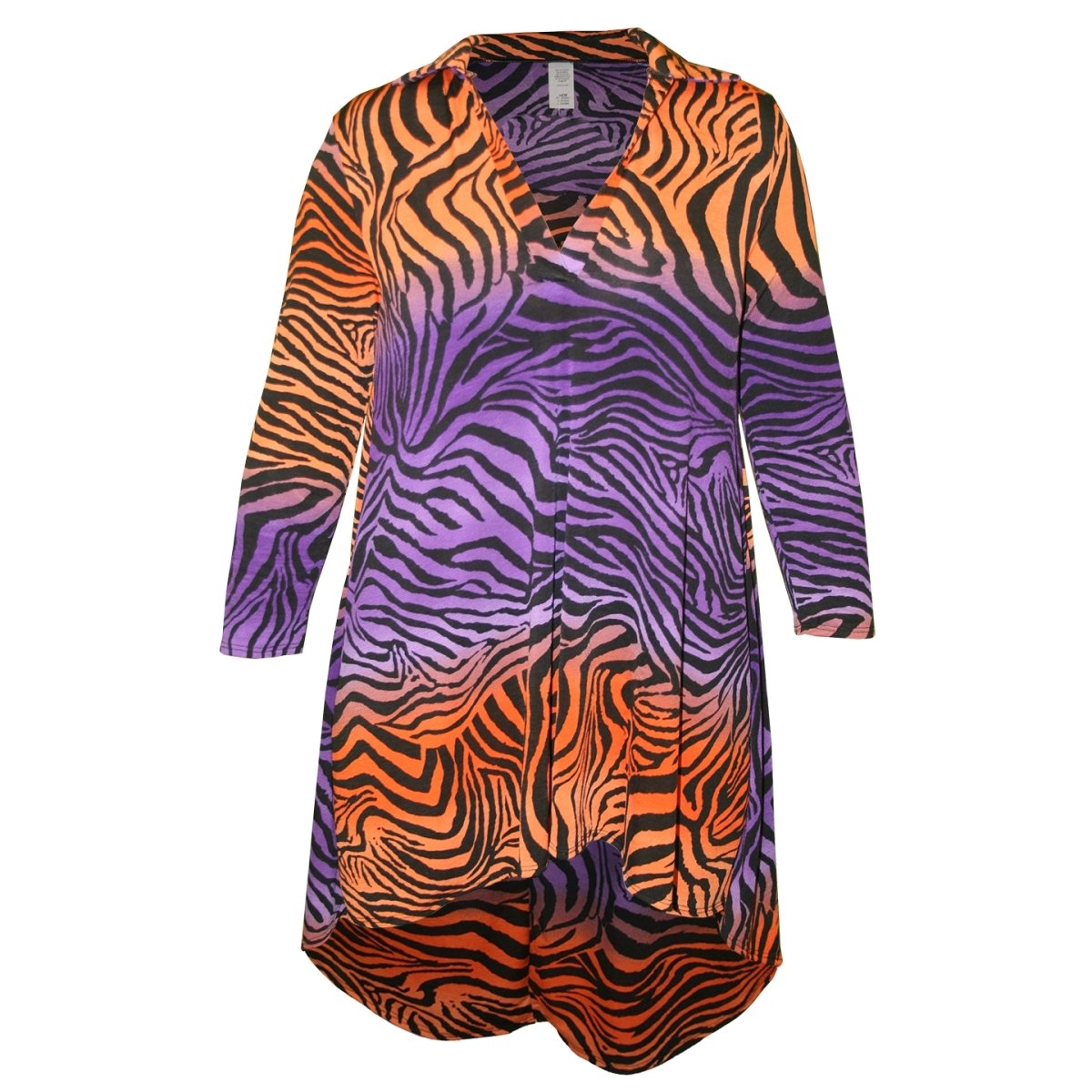 Collar Tunics Ombre With Black Tiger Stripes - Mr. Knickerbocker