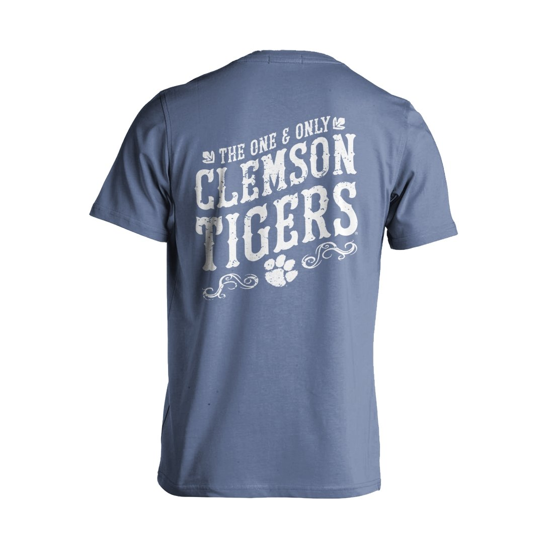 Comfort Color One and Only Clemson Tee - Mr. Knickerbocker