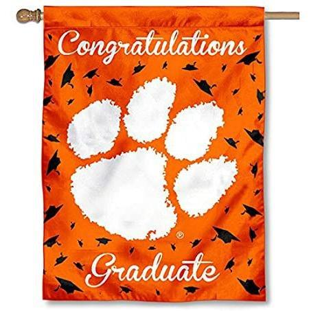 "Congratulations Graduate Banner/Flag - 30'"" x 40"" - Mr. Knickerbocker"