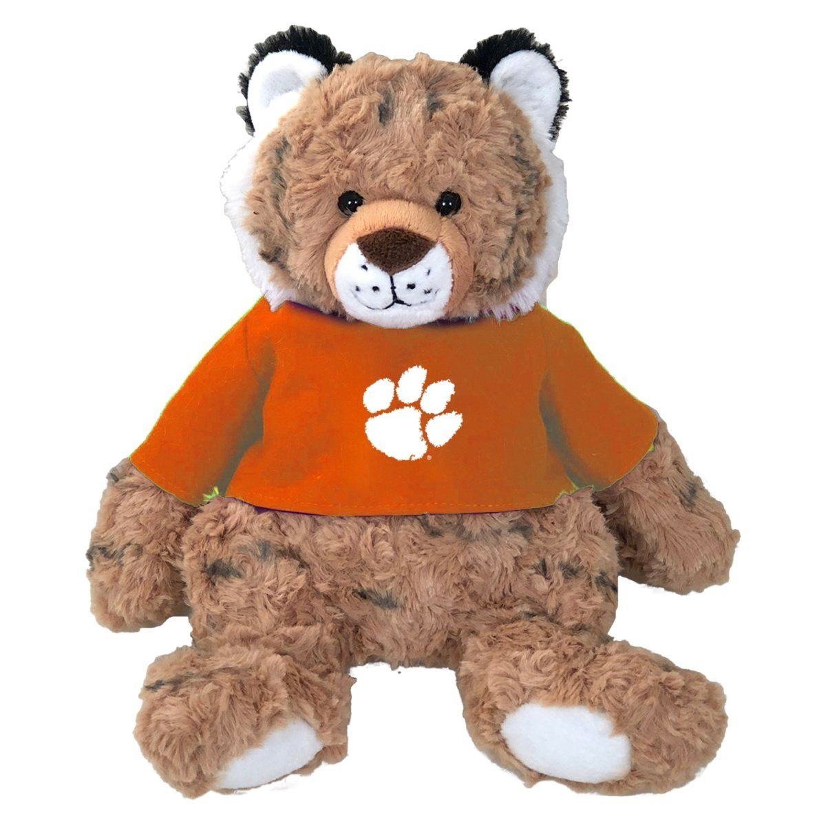 Cuddle Buddy Tiger With Orange Shirt White Paw - Mr. Knickerbocker