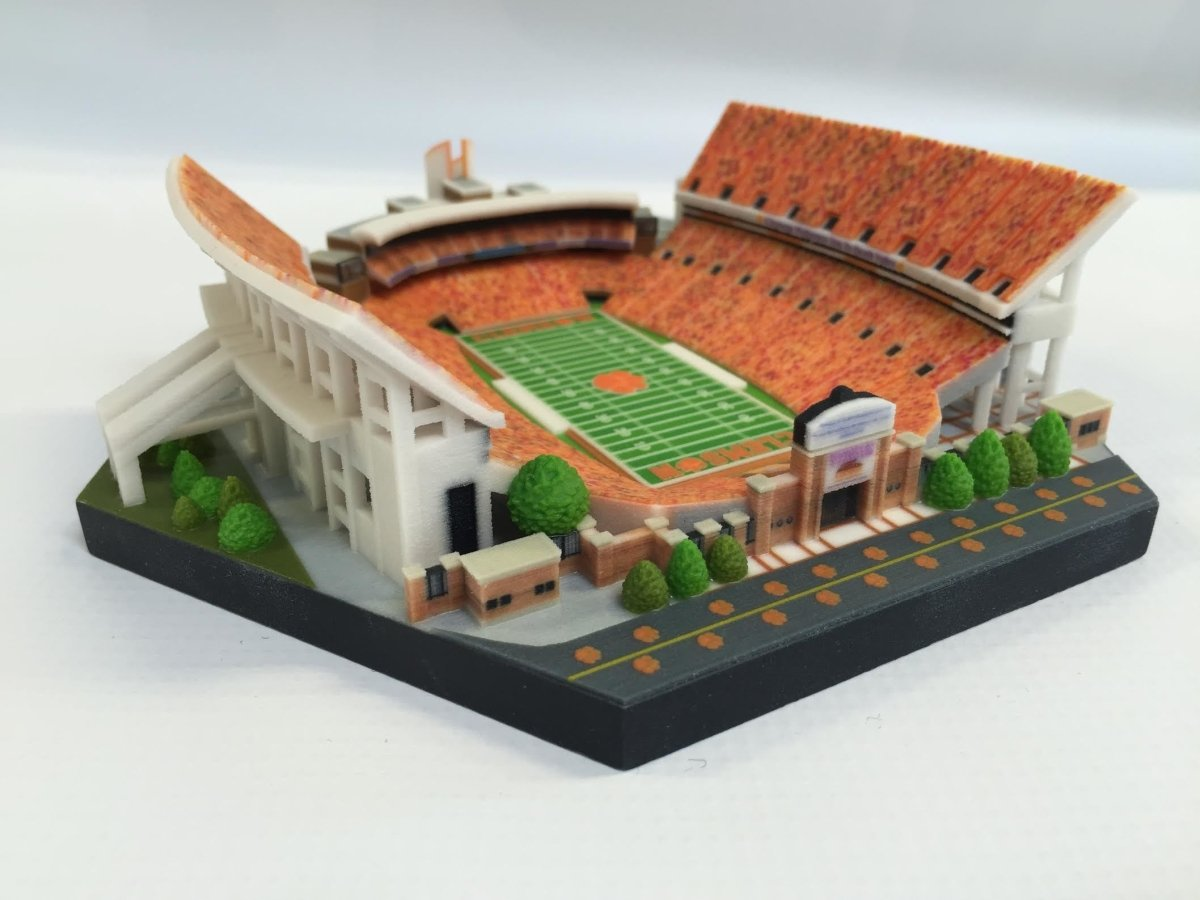 Death Valley 3D Printed Replica With Oculus - Mr. Knickerbocker
