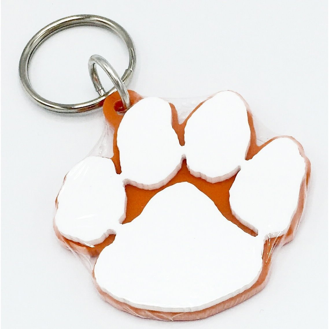 Die Cut Paw Keychain - Mr. Knickerbocker