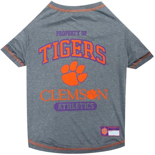 Dog/pet Tee - Property of Tigers Clemson Athletics - Mr. Knickerbocker