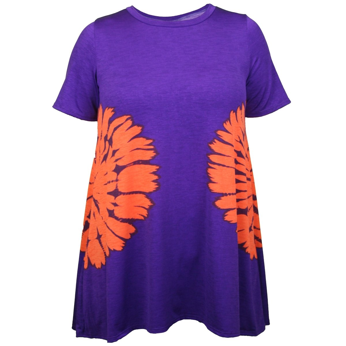 Dress With Orange Side Tie Dye - Mr. Knickerbocker