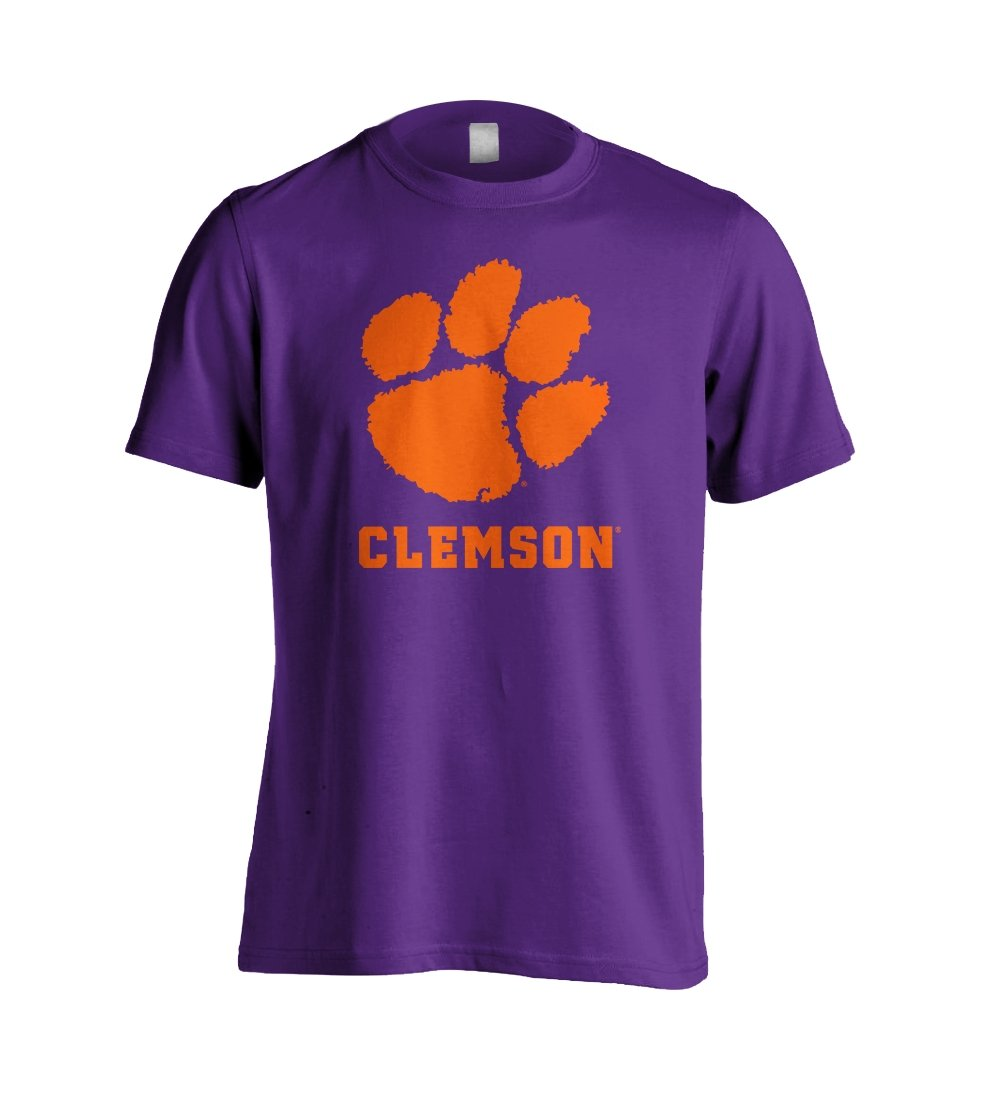 Dri-fit Adult T-shirt Paw With Clemson - Mr. Knickerbocker