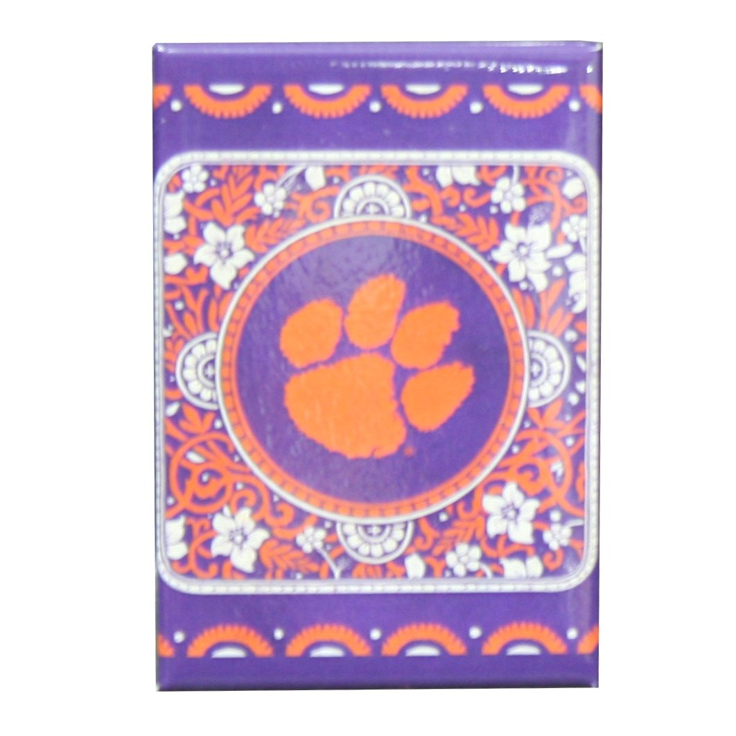 Eclectic With Orange Paw Magnet - Mr. Knickerbocker
