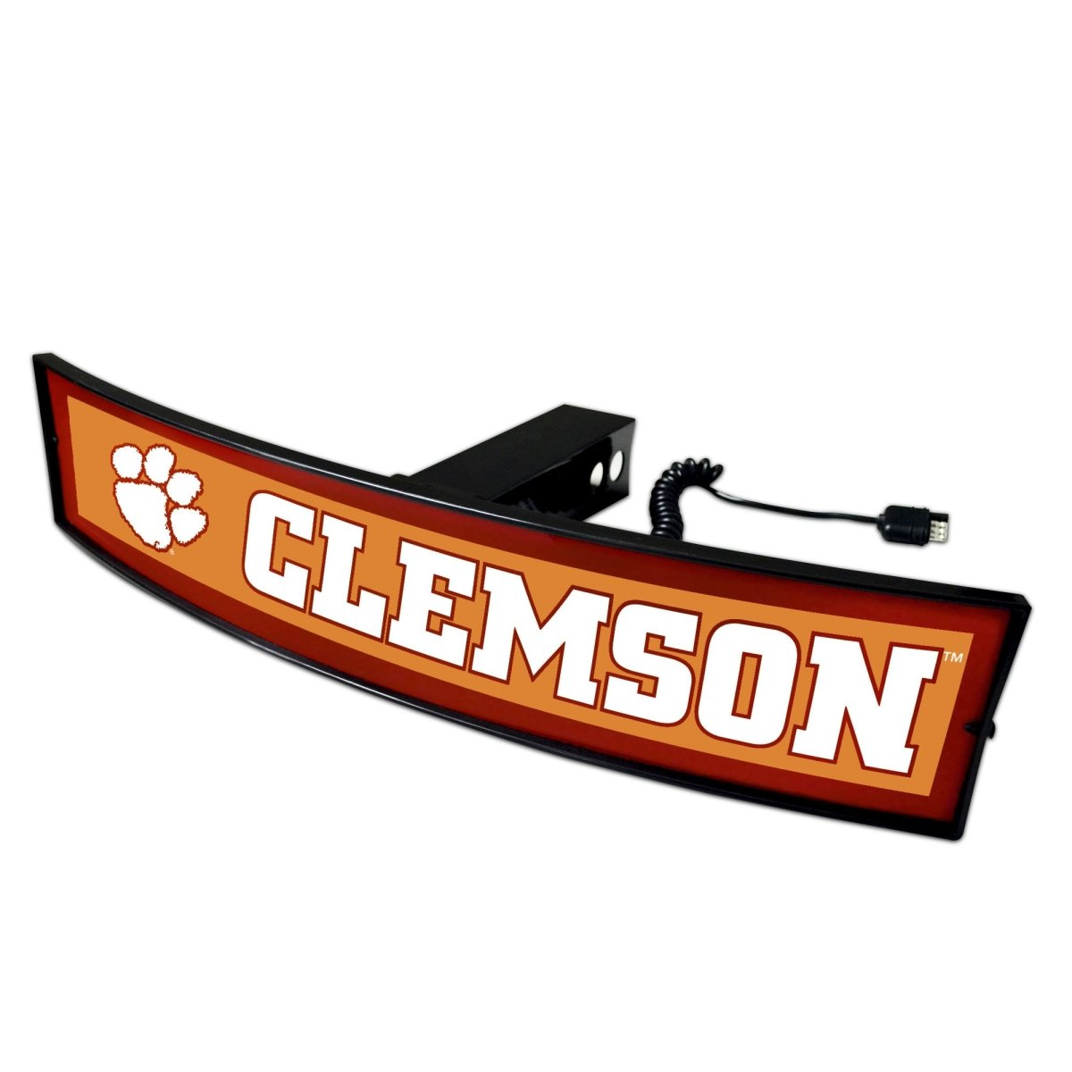 Fanmats Clemson Tigers Lighted Hitch - Mr. Knickerbocker