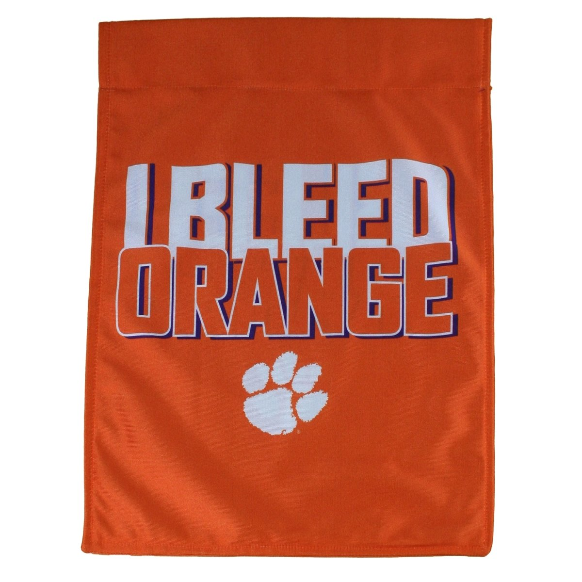 Garden Flag - I Bleed Orange With White Paw - Mr. Knickerbocker