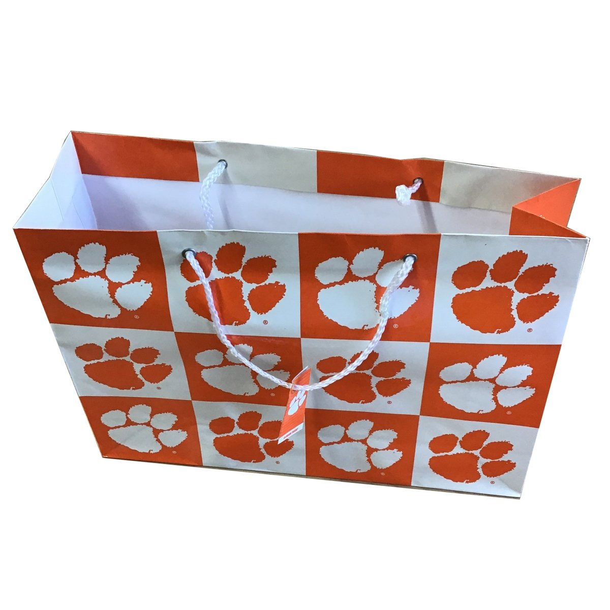 Gift Bag Checker With Paws - Mr. Knickerbocker