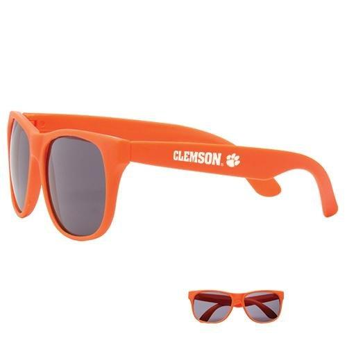 Glasses Orange With White Clemson and Paw - Mr. Knickerbocker