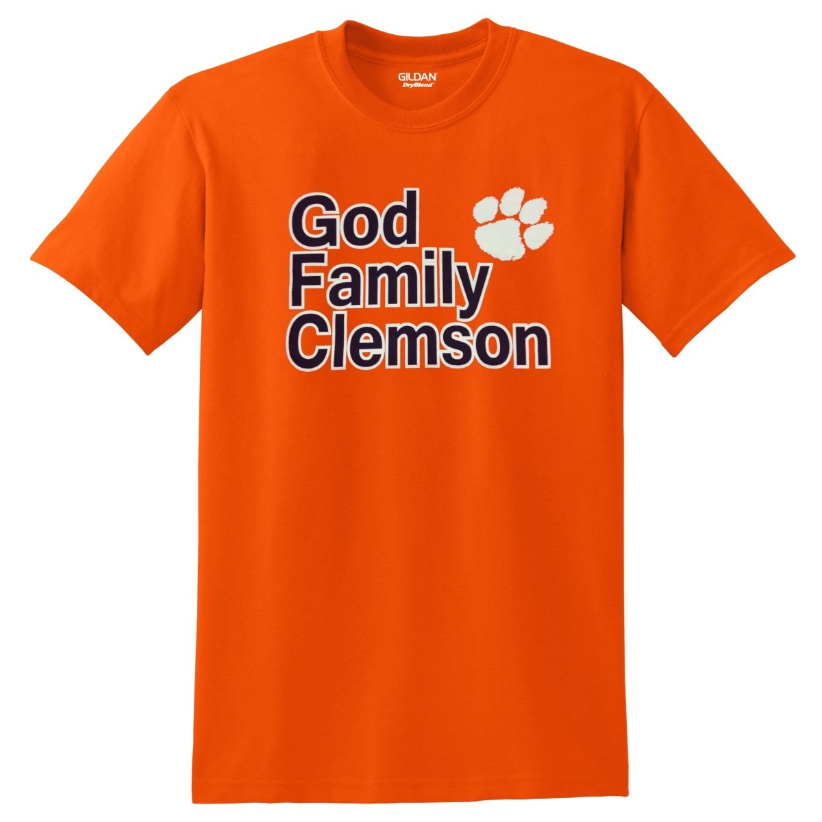 God Family Clemson Tee - Mr. Knickerbocker