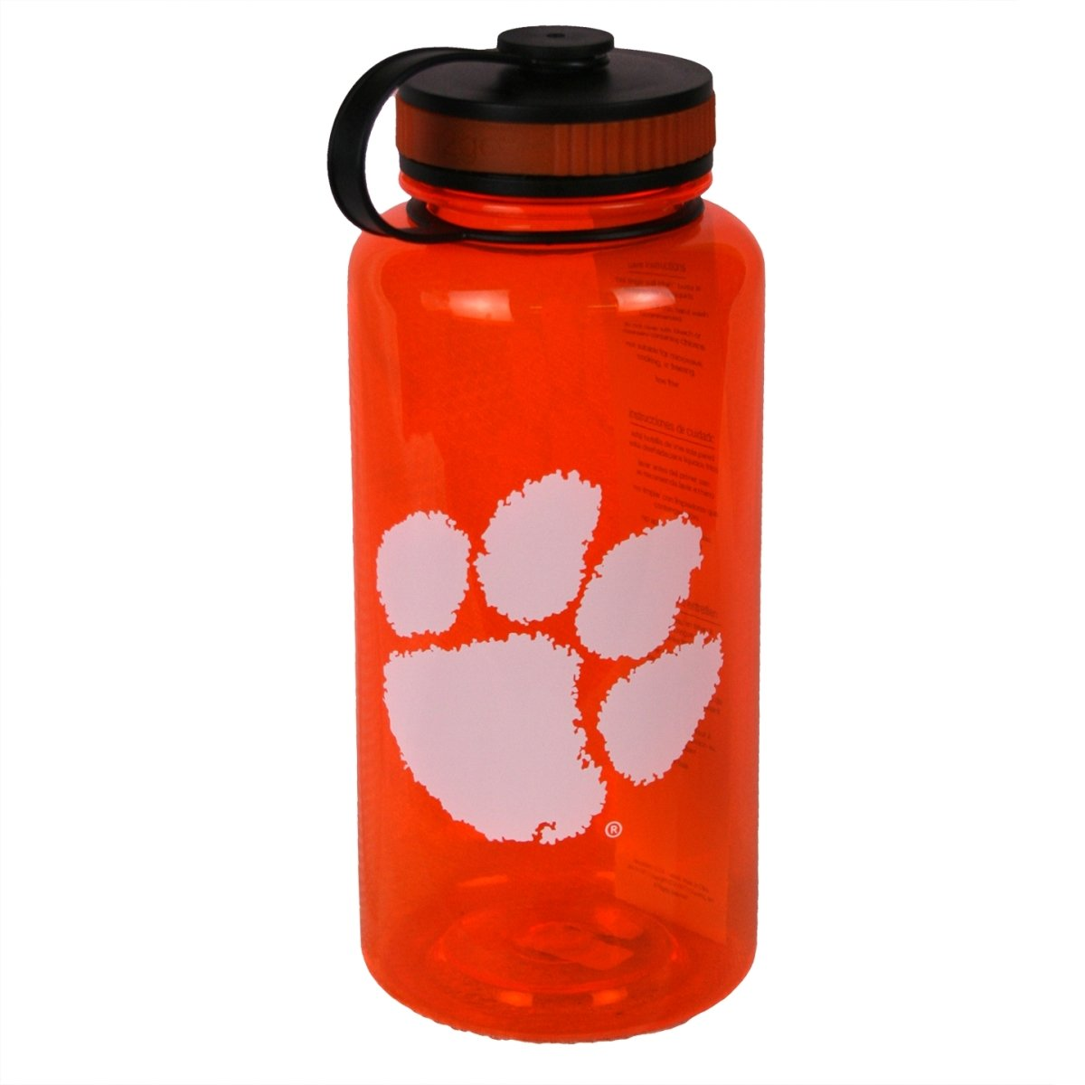 h2go 34 Oz Wide Mouth Bottle With White Paw - Mr. Knickerbocker