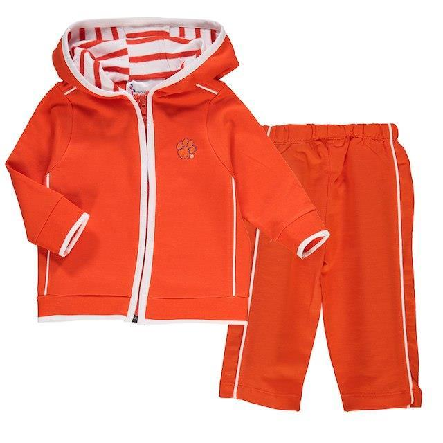 Infant French Terry Zipper Hoodie & Pants Set - Mr. Knickerbocker