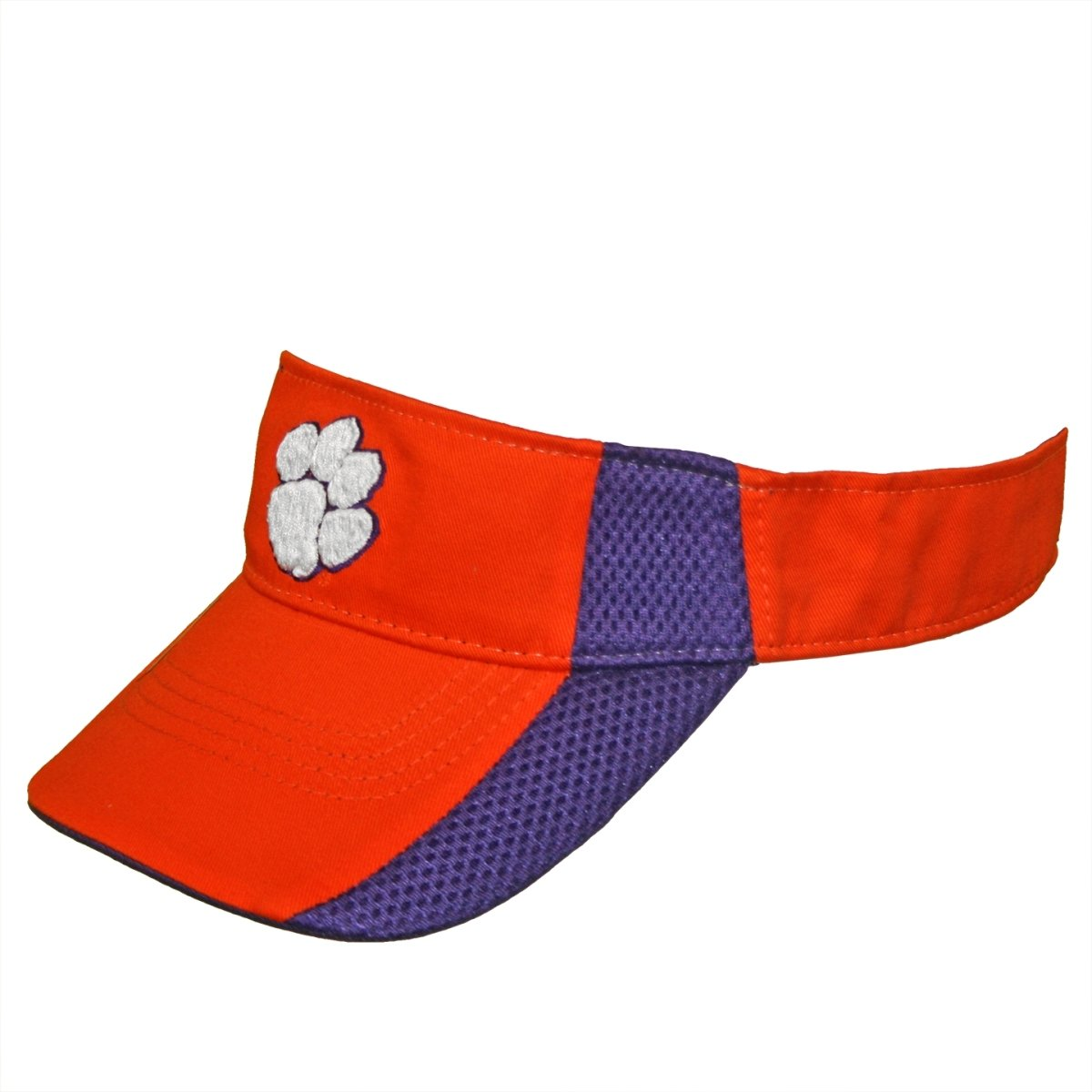 Interception 2-Tone Visor With White Paw - Mr. Knickerbocker