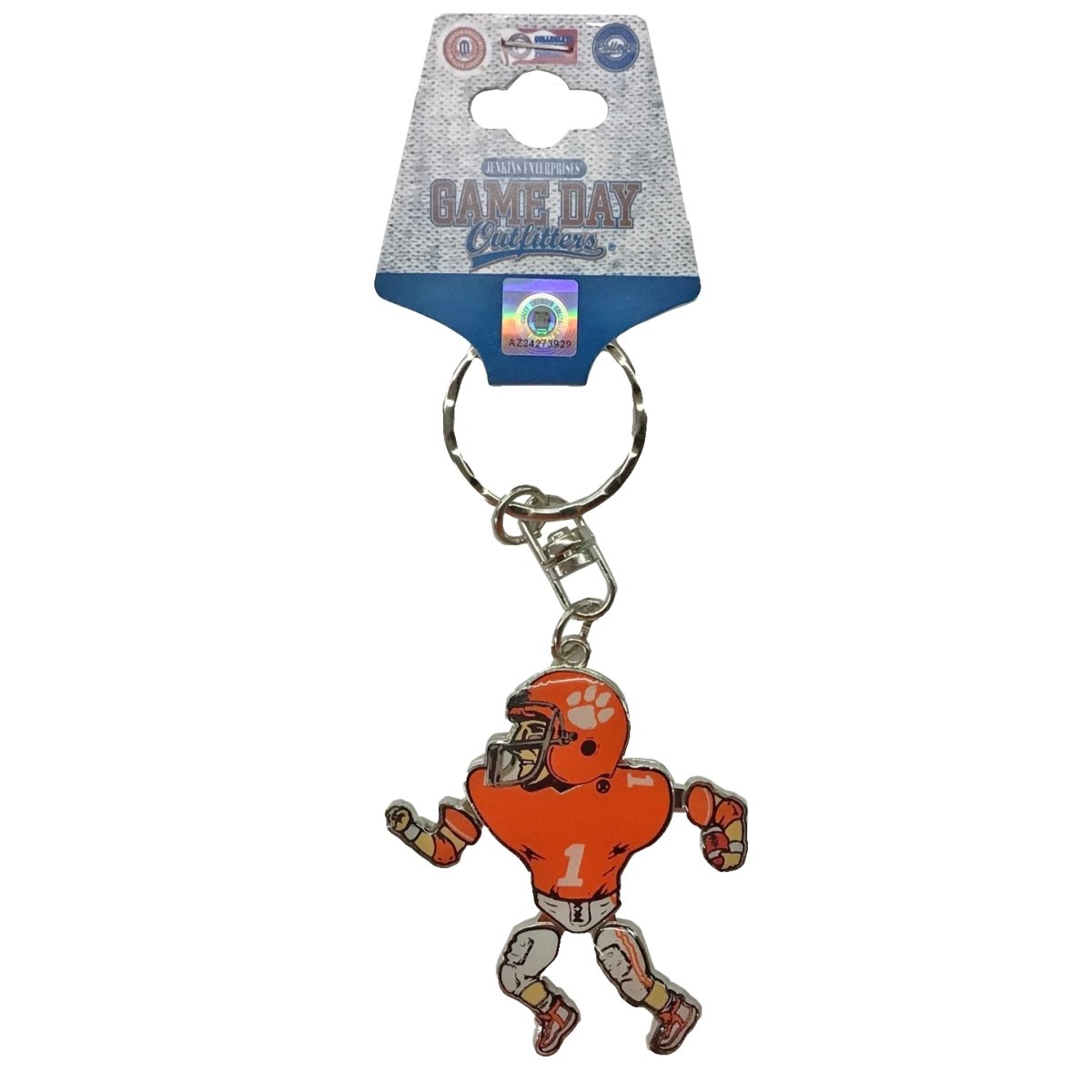Keychain Football Player Movable - Mr. Knickerbocker