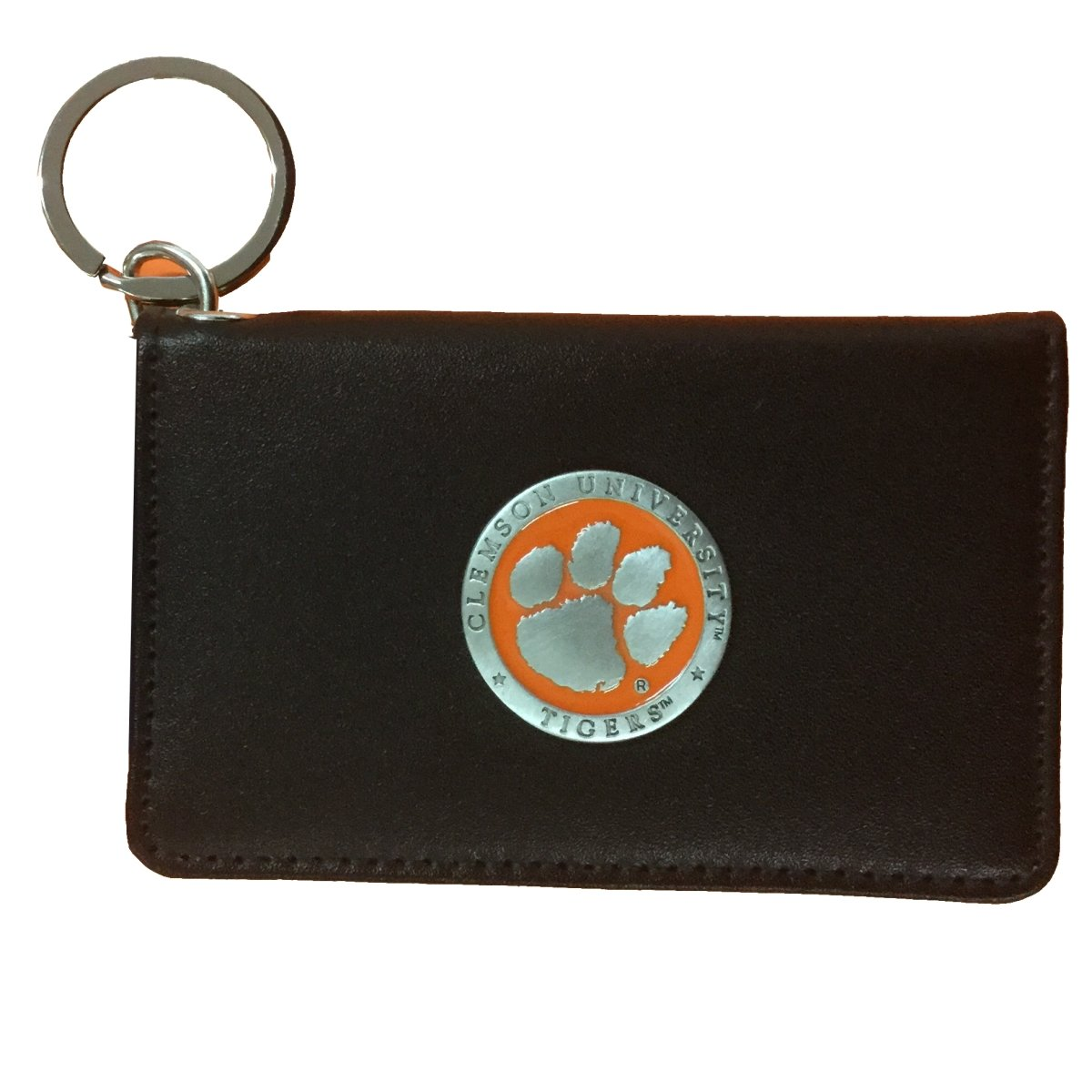 Keychain Wallet With Pewter Emblem - Mr. Knickerbocker