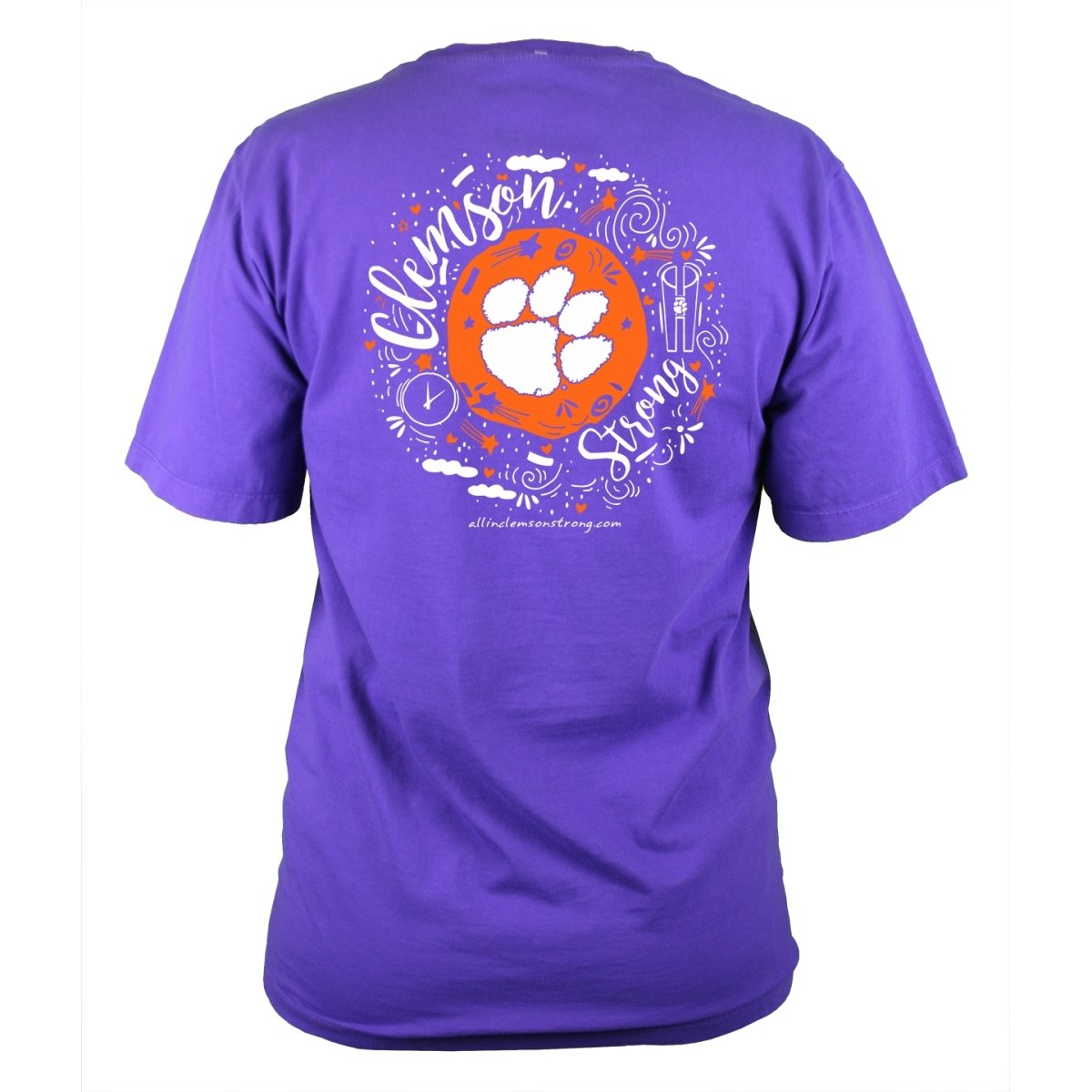 Ladies Clemson Strong T-shirt - Mr. Knickerbocker