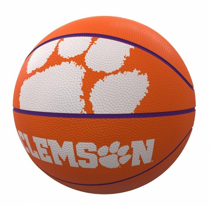 Mascot Official-size Rubber Basketball - Mr. Knickerbocker