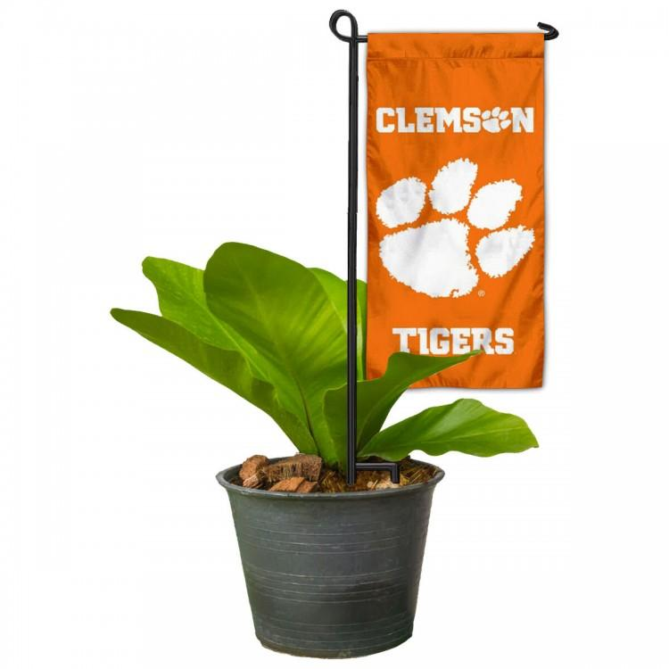 "Mini Garden Banner Flag With Stand - 6"" x 14"" - Mr. Knickerbocker"