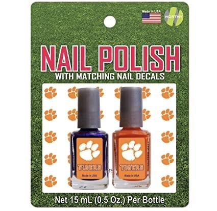 Nail Polish 2 Pack with Matching Decals - Mr. Knickerbocker