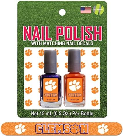 Nail Polish 2 Pack with Matching Decals and File - Mr. Knickerbocker
