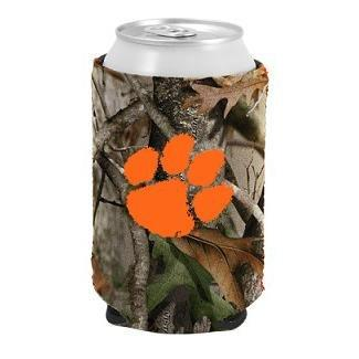 Neoprene Koozie Realtree Hd Camo With Orange Paw - Mr. Knickerbocker